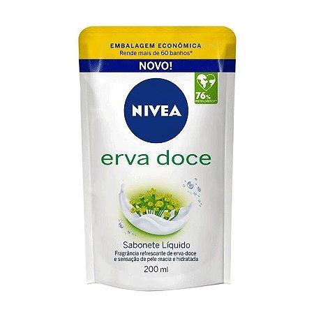SABONETE LÍQUIDO NIVEA ERVA DOCE 200ml - 4075