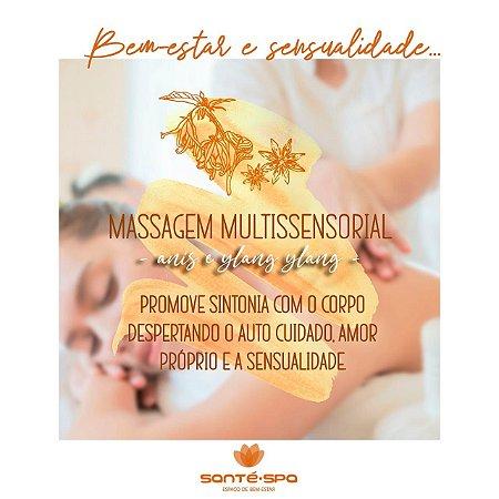 Massagem Multissensorial Bem-Estar e Sensualidade