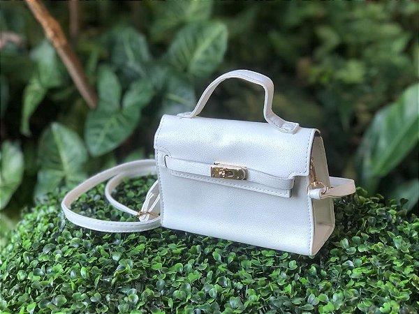 Bolsa Mini Estruturada Off-White