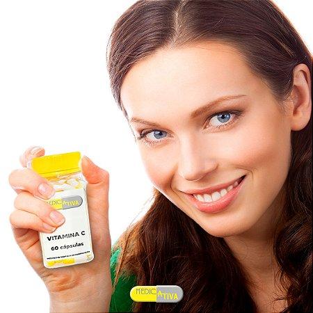 Vitamina C 500mg - 60 cáps