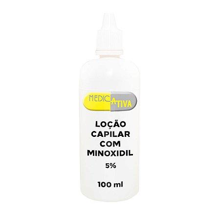 Loção Capilar com Minoxidil 5% - 100ml