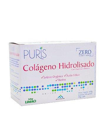 Colágeno + Vitamina e Minerais  Sabor Limão - 30 SACHES