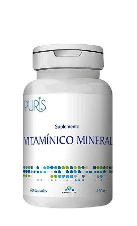 Suplementos de Vitaminas e Minerais - 60 Cápsulas