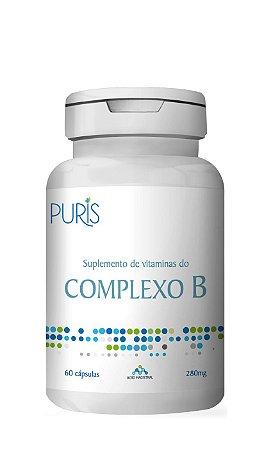 Suplementos de Vitaminas do Complexo B -60 Cápsulas