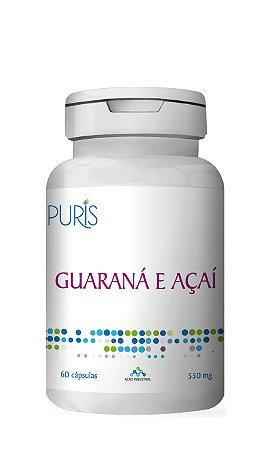 Guaraná + Açaí - 60 Cápsulas