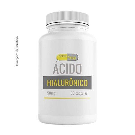 Ácido Hialurônico 50mg - 60 cápsulas