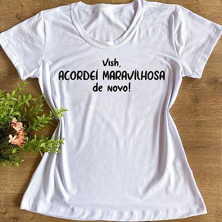 VISH, ACORDEI MARAVILHOSA DE NOVO