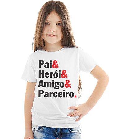 PAI E HERÓI-FEMININA INFANTIL