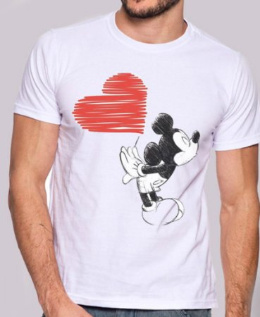 MICKEY LOVE CASAL - MASCULINO ADULTO