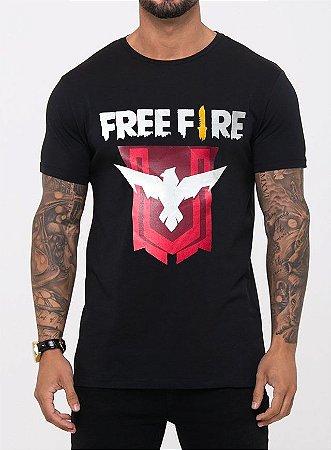 FREE FIRE- MASCULINA ADULTA