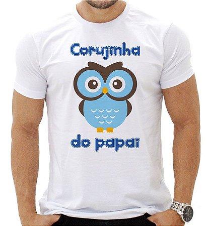 CORUJINHA DO PAPAI MENINO- MASCULINA ADULTA