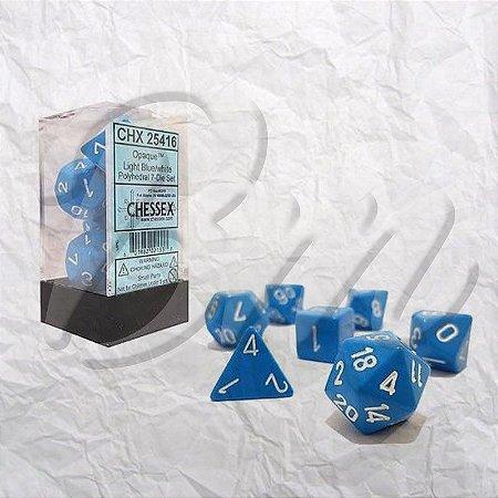 Set de Dados Chessex Opacos D&D 7 peças