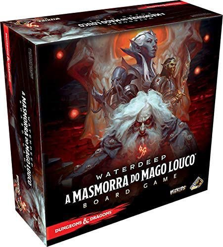 A Masmorra do mago louco Board Game (Dungeons and Dragons)