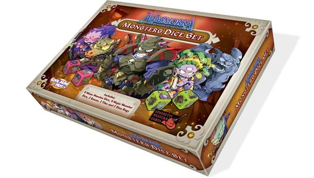 Masmorra: Monster Dice Set  - Dungeons of Arcadia (pré-venda)
