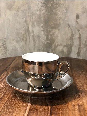 CJ 6 XICARAS 17370 PORC CAFE BCO/PRATA VERSA 90ML
