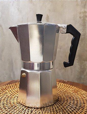 CAFETEIRA AF09 ALUMÍNIO 9 CAFEZINHOS