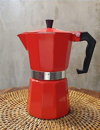 CAFETEIRA AF06V VERMELHA P 6 CAFEZINHOS