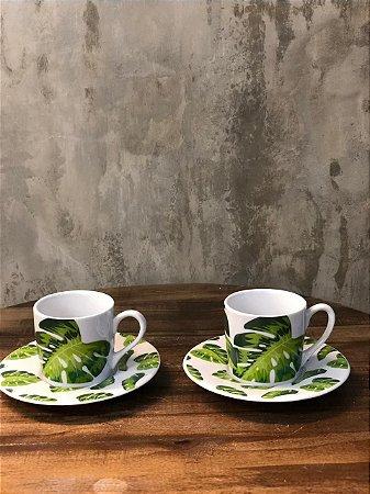 CONJ XICARAS 17329 CAFE C/6 COLOR 90ML