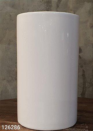 CACHEPOT 44089 CERAM BASICS DEEP TUBE BR 10X10X17CM