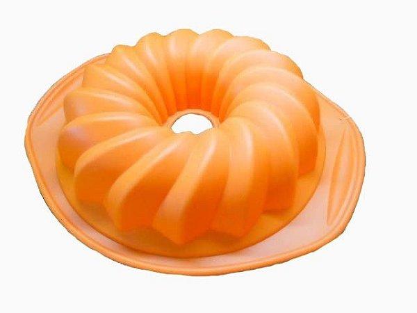 Forma de Silicone em Formato de Manjar