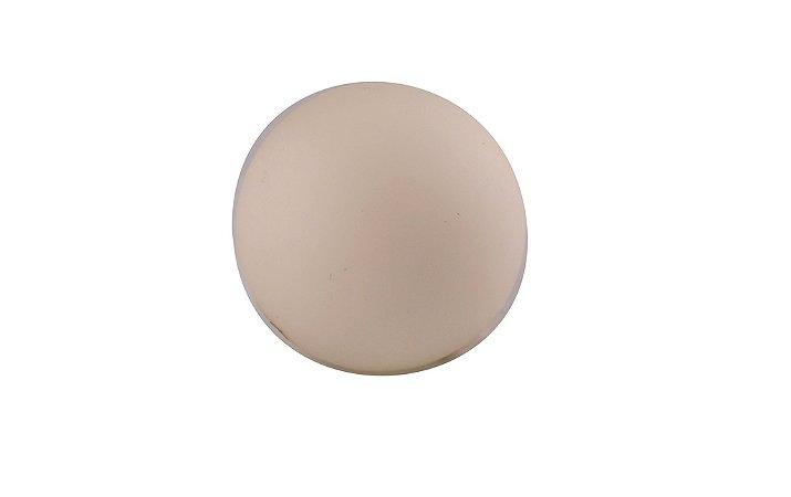 Bola Branca Decorativa de 10,5cm - Enjoy