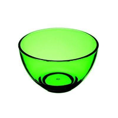 Bowl acrílico verde 6 peças - Kos