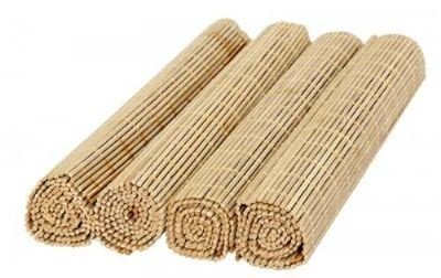 Jogo Americano Bambu Caramelo 30x45cm de 4 peças- GS