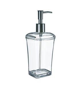 Porta Sabonete Liquido Acrílicos Branco- KOS