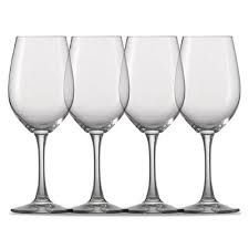 Taça água 580ML Cristalin 4 Peças - Winelover