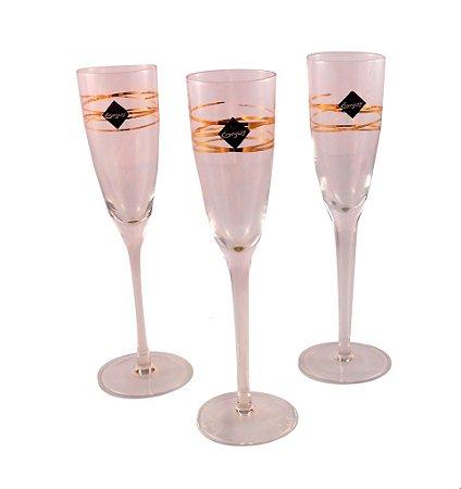 Taça Champagne 215ml com 6 peças - Enjoy