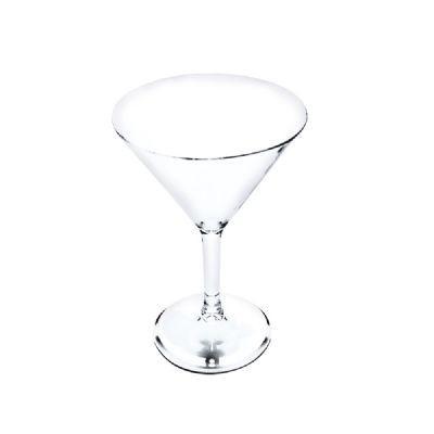 Taça de Martini Acrílico Cristal 6 peças - KOS