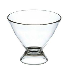 Taça de Sobremesa Acrílico Cristal 6 peças - KOS