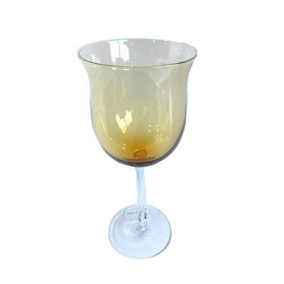Taça Vinho 300 ML Vidro Ambar 6PÇS