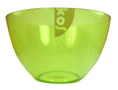 Tigela Grande Verde de Acrilico - Kos