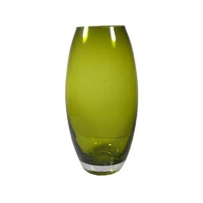 Vaso 24CM de Vidro Verde - GS Lily