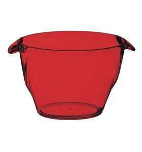 Mini Cooler Acrílico Vermelho - KOS