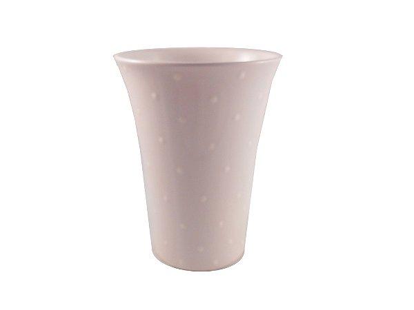 Vaso de Cerâmica 22 cm Branco