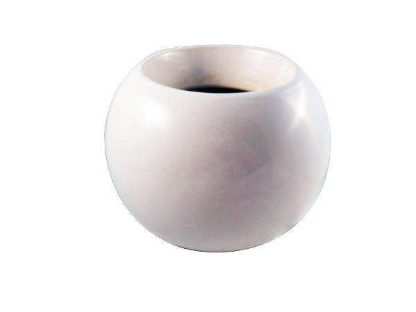 Vaso de Cerâmica 18 cm Branco