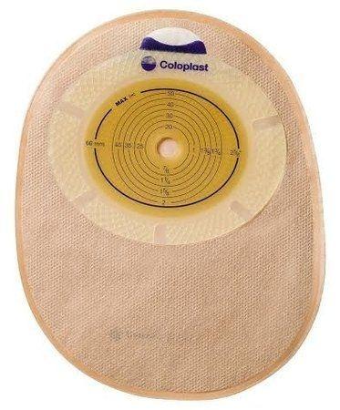 Bolsa para Estomas intestinais (colostomia; ileostomia) SenSura - peça única - fechada transparente - Caixa com 30 Unidades - Coloplast - 15470