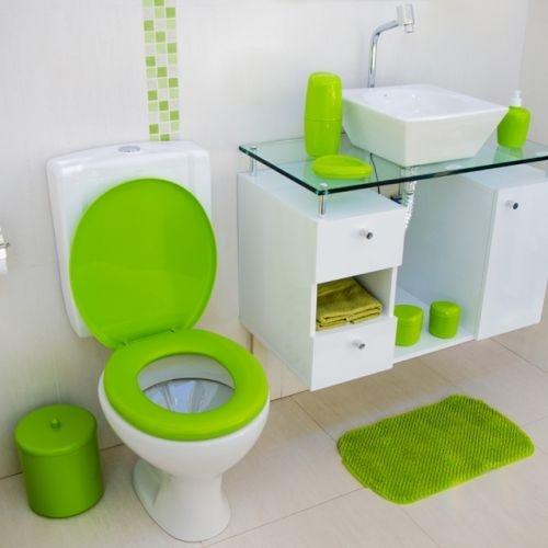 Assento Sanitário Almofadado Colorido - Astra
