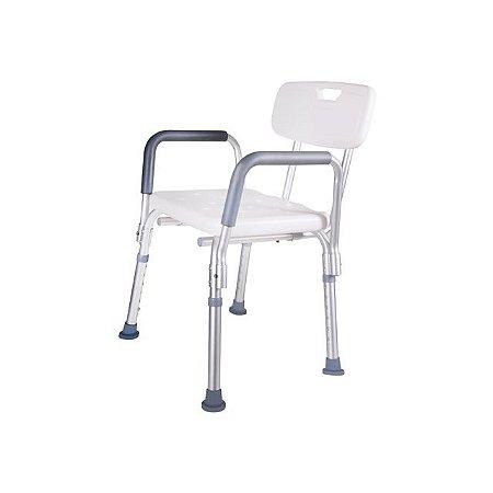 Cadeira para Banho com Apoio para Braço Mod 2 - Astra