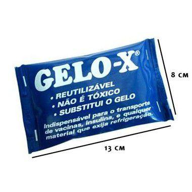 Kit Gelo Reutilizável Flexível Pequeno GELOX 10un - Termogel