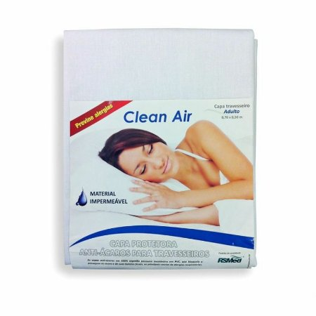 Capa Protetora Antiácaros para Travesseiro Adulto - Clean Air - RSMed