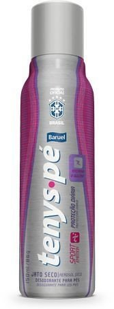 Desodorante Tenys  Pé  Jato Seco Sport  Emotion