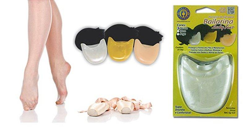 Ponteira de Gel para Bailarina Lady Feet - Ortho Pauher