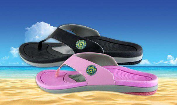Sandália com Arco e Piloto Total Support - Ortho Pauher