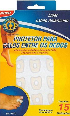 Protetor para Calos Entre os Dedos FP12 - Ortho Pauher