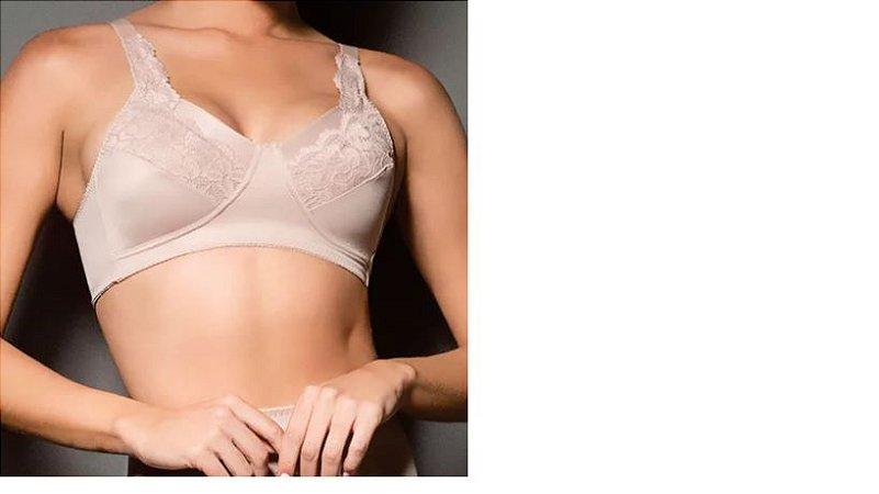Sutiã Pós-Mastectomia com Renda para Prótese Externa 384 - Cinta Moderna