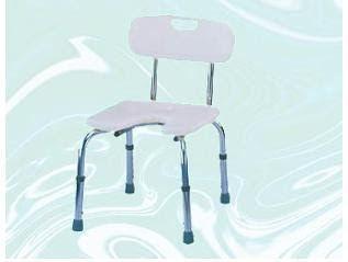 Cadeira de Banho com Encosto e Abertura Frontal - Mobil Saúde