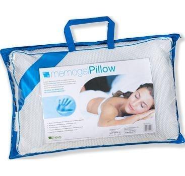Travesseiro Memogel Pillow Altura 18cm - Capa removível - Copespuma